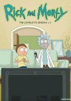 Rick and Morty: The Complete Series Seasons Season 1-3 6 DVD Box Set 123 1 2 3