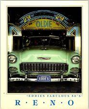 1990s Eddie's Fabulous Fifties Hotel Casino Reno NV Postcard 1950's Oldies theme