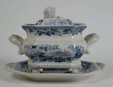 Goodwin Bridgewood and Orton.'Oriental Flower Garden' pearlware tureen 1828