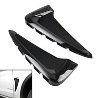For   X5 F15 2014+ Black Side Body Marker Flow Fender Air Wing Vent Trim Cover