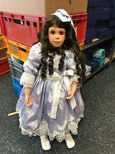 Denise Mc Millan Porzellan Puppe 85 cm. Top Zustand