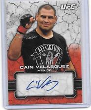 2013 Topps UFC Bloodlines Ruby Autograph Card CAIN VELASQUEZ 6/8