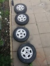 Land Rover Freelander 1 Steel rims and all-terrain tyres x4