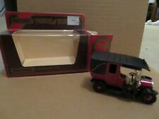 Matchbox Models of Yesteryear Y-28 1907 Unic Taxi Red 1984 MIB See My Store