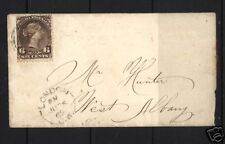 Canada #27 With 2 Ring 6 On Cover