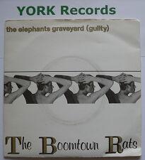 "BOOMTOWN RATS-Elephant 's Graveyard-excellent état 7"" single Bongo 2"