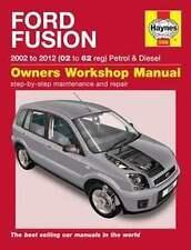 Haynes 5566 Service and Repair Manual Ford Fusion Petrol & Diesel (02 - 12)