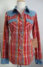 TRUE RELIGION Jeans WOMENS L/S ROCKY WESTERN Damen Hemd Gr.M NEU mit ETIKET