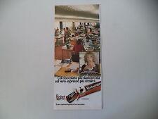 advertising Pubblicità 1979 FERRERO POCKET COFFEE