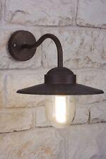 Applique extérieure Lampe murale Lanterne Lampe de jardin Couleur rouille 8549