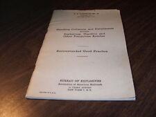 APRIL 1949 AAR HAZ-MAT COLLISIONS AND DERAILMENTS MANUAL