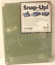 "NWT Cargo Snap-Up Sage Green Storage Box 12.5"" L x 16"" W x 6"" H"