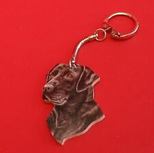 Black Labrador Retriever Collectable Keyring Fathers Gift Dad Mum Vet Xmas Gift