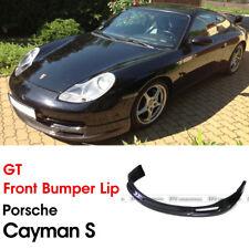 For Porsche 04-08 Cayman S Carbon Fiber GT Front Bumper Lip Glossy Kits