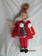 Dr. Seuss How the Grinch Stole Christmas Cindy Lou Who Doll loose complete