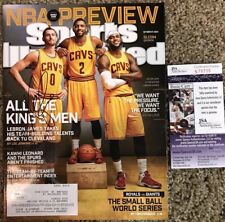 Kevin Love Cleveland Cavs Signed Sports Illustrated 10-27-14 JSA S76795