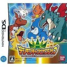 USED Digimon Championship japan import Nintendo DS
