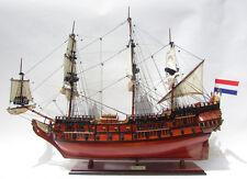 "Handcrafted Friesland 37"" wood ship model"