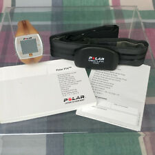 Polar FT4 Heart Rate Monitor Manual & WearLink Chest Strap *NEEDS NEW BATTERIES*