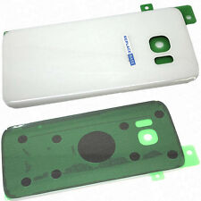 Rear Cover For Samsung Galaxy S7 White Replacement Battery Housing Glass Panel
