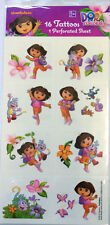 16 Dora the Explorer Tattoos Birthday Party Favors  Supply Nickelodeon Boots