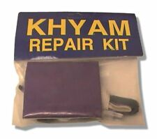 Khyam Flexi Dome MK1 Camping Tent Repair Patch Kit Violet & Teal