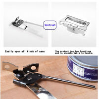 household Side Cut Manual Can Opener Kitchen Tools Stainless Steel Opener YK