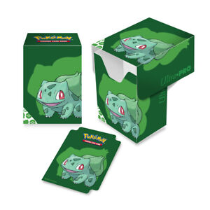 Pokémon Bisasam 2020 Card Case / Deck Box für 80 Karten NEU/OVP