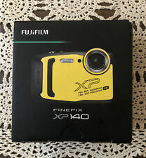 Fujifilm Finepix XP140 16.4MP Waterproof Camera - Yellow