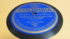 AL JOLSON COLUMBIA 78 RPM RECORD 2671 I WONDER WHY SHE KEPT ON SAYING