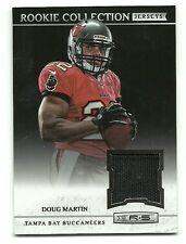 2012 ROOKIES AND STARS ROOKIE COLLECTION JERSEYS #1 DOUG MARTIN