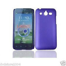 Pellicola + custodia back cover case VIOLA per Huawei U8860 Honor