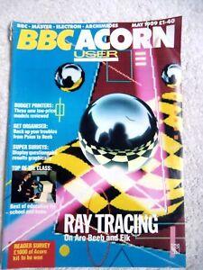 75262 Issue 82 BBC Acorn User Magazine 1989