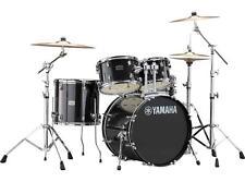 """Yamaha Rydeen 5-Piece Shell Kit - 20"""" Bass Drum - Black Glitter"""