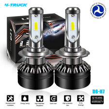 H7 LED Headlight Kit 6000K For YAMAHA YZF 600 1000 R1 R6 S FZ6 FZ1 FZ6R Subaru