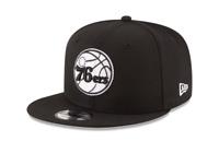 New Era 9Fifty Philadelphia 76ers Basic Snapback Black