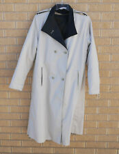 ICI International Classic Inc Sz 14 Womens Trench Coat Beige Double Breasted