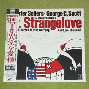 DR. STRANGELOVE [1964/Stanley Kubrick] - RARE 1994 JAPAN WIDESCREEN LASERDISC