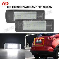 FOR NISSAN Qashqai X-trail Juke Patnfinder R51 LED Number License Plate Light