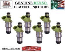 (6) Reman Fuel Injectors >1989-1992 Toyota Supra 3.0L I6< OEM DENSO #23250-70080