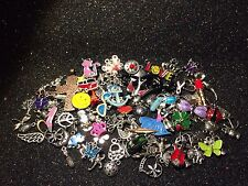 75 PiEcE LoT ~ MiXeD ThEMe EnAmEL SiLvER GoLd ChArMs