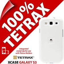 Tetrax Xcase pour Samsung i9300 Galaxy S3 Protection Clip intégré Coque Blanche