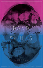 BAND OF SKULLS / MOTHERS 2016 MEMPHIS CONCERT TOUR POSTER-Blues/Indie Rock Music
