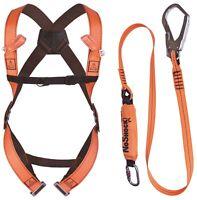 Delta Plus Elara190 Scaffolders Fall Arrest Kit - 1 Scaffold Hook + Harness