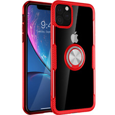 iPhone 11 Case 6.1 inch 2019, Carbon Fiber Design Clear Crystal Anti-Scratch wit