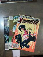 Daredevil 3 book lot #192,193,194 VF-FN (1983) Marvel Comics