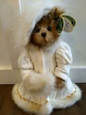 Bearington Bears Collection Victoria White Coat and Hat with tags and box