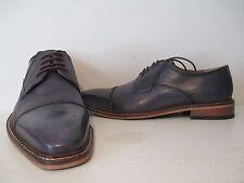 Giorgio Brutini Mens Revenant 25074 Leather Oxford Dress Shoe Gray Size 10 M