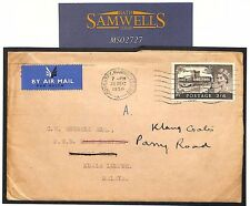 MS2727* Great Britain Cover 1956 GB QEII WATERLOW CASTLE Coventry Airmail MALAYA