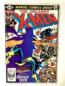 Uncanny X-Men #148- Marvel 1981- Claremont Cockrum- Spider-Woman/Dazzler VF!